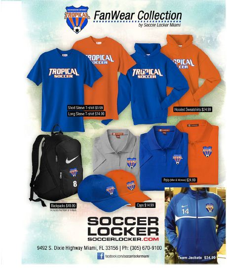 Tropical Soccer Fanwear