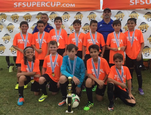 U12 Boys - South Florida Super Cup Champs Spring 2017